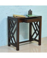 Solid Wood Cross Console Table