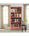 Solid Wooden Hutton Bookshelf with1 Drawer