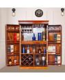 Solid Sheesham Wood Bar Cabinet