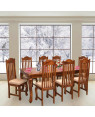 Henfrey Solid Wood Eight Seater Dining Set