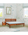 Solid Wood Lynet Bed Without Storage
