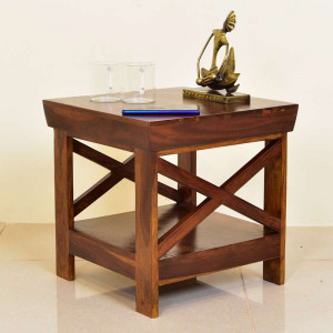 Flair Wooden Peg Side Table