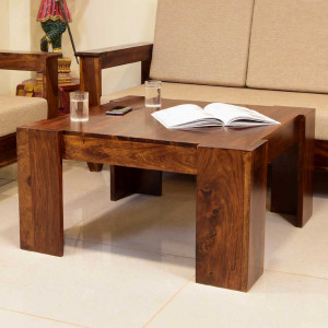 Solid Wood Stalwart Wooden Center Table