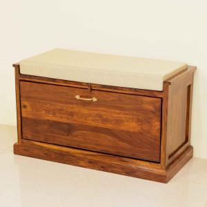 Solid Wood Florito Footwear Table