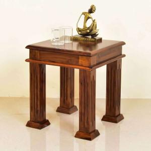 Solid Wood Side Peg Table