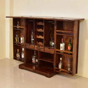 Solid Wood Tiles Design Regular Bar
