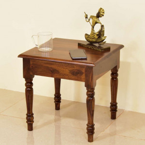 Solid Wooden Plen Side Table and Peg Table