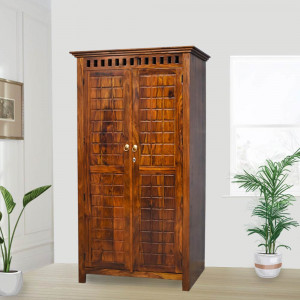 Solid Holden Sheesham Wood Wardrobe