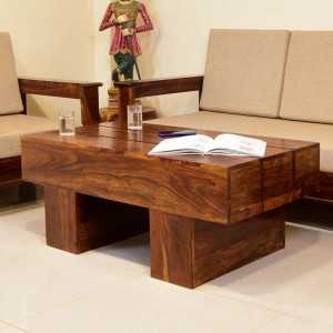 Solid Wood Group Center Table