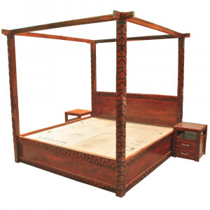 Solid Wooden Florence Bed
