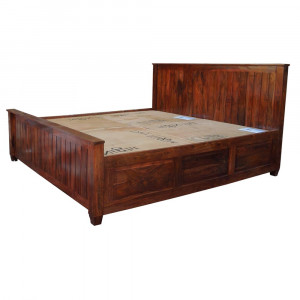 Solid Wooden Felton Bed With Storage