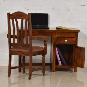 Solid Wood Kristina Study and Office Table