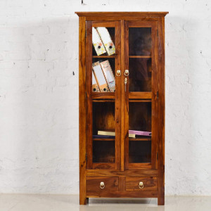 Solid Wood Valentina Ladder Book Shelf