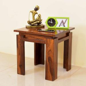 Aramika Solid Wood Peg Table