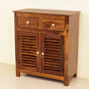 Solid Wood Velvic Footwear Table