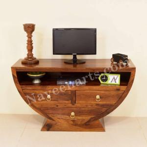 Solid Wooden Mayur TV Unite