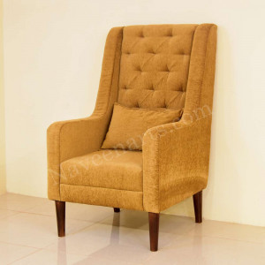Solid Wood Opulance Wing Chair
