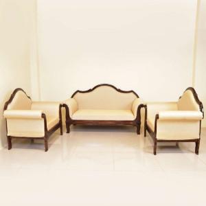 Solid Wood Sheesham Easy Sofa Chair