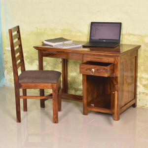Solid Wood Study and Office Table