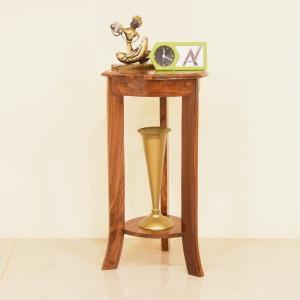 Cadet Solid Wood Round Corner Table