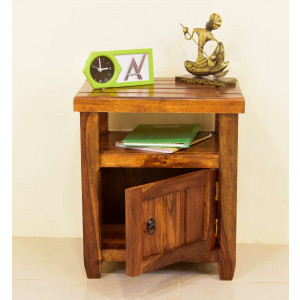 Solid Wood Willock Bedside Table