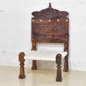 Solid Wood Rajasthani Charpai Pidha