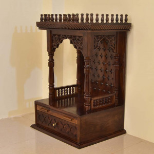 Solid Wood Carving Home Temple