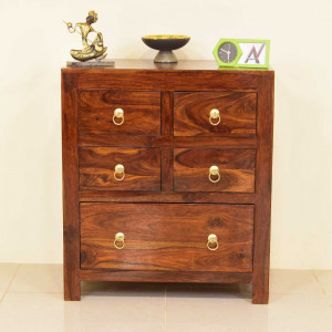 Solid Wood Kabra Side Board and Chest of Drawers