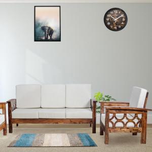 Chicane Solid Wood Sofa set