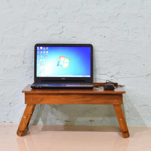 Solid Wood Follding Laptop Tables