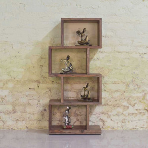 Sheesham Wood Cagney Bookshelf