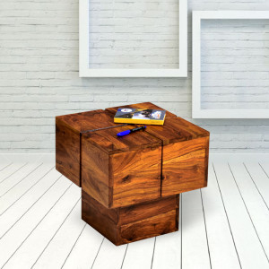 Solid Wooden Group Zumbo Peg Side Table