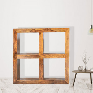 Solid Sheesham Wood Bookshelf