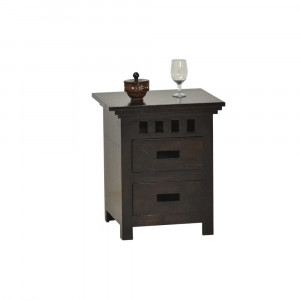 Solid Wood Bardi Bed Side Table