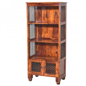 Solid Wood Sheesham Bookshelf