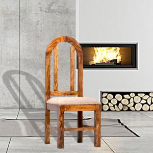 Solid Wood Dining Chair Honey, Walnut and Mahogany Finish
