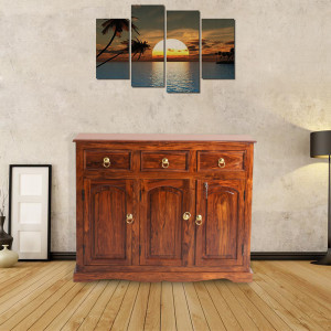 Woodway Solid Wood Sideboard Cabinet
