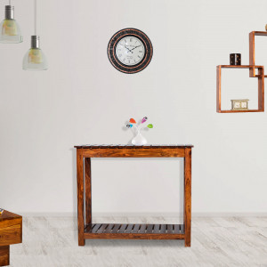 Ollie Solid Wood Console Table