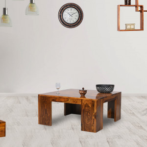 Stalwart Wooden Center Table