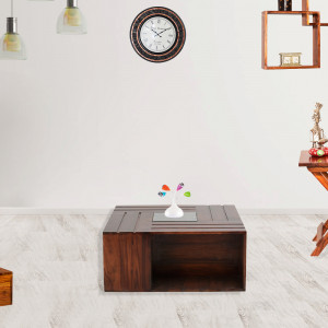 Alfence Wooden Center Table