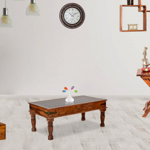 Traditional Indian Style Center Table