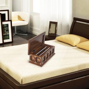 Sheesham Wood Top Bangle Box