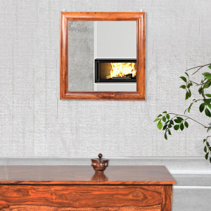 Sheehsam Solid Wood Connor Mirror Frame
