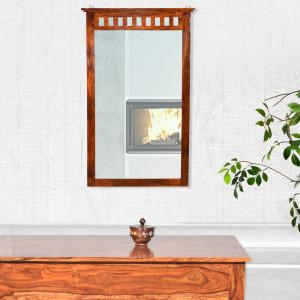 Solid Wood Kuber Sheehsam Mirror Frame