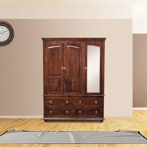 Solid Wooden Yoshihisa Wardrobe