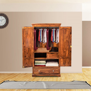 Solid Wooden Avilys Carbin Wardrobe