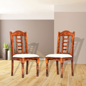 Multipurpose Traditional Solid Wood Chair for Dining / Study Chair / Home Office