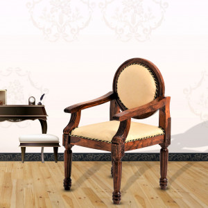 Royal and Elegant Solid Wood Chair for Dining / Home / Office