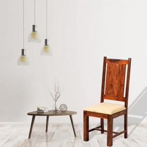 Solid Sheesham Wood Dining Chair