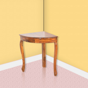 Solid Wood Round Corner Table Design